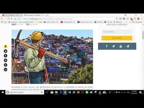 Crypto News Share: Venezuela to Regulate Bitcoin Mining