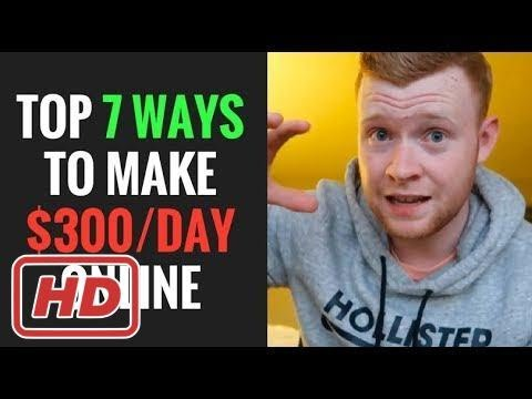 The 7 Ways I Make Money Online From Anywhere In The World!!# 1000$ a day
