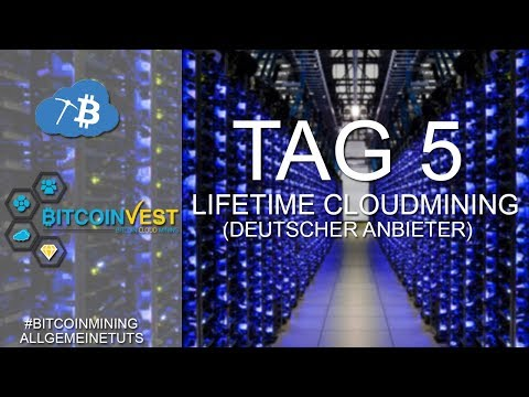 5 TAGE BITCOINVEST | Stand der Dinge | Bitcoin Cloud Mining | Deutsch
