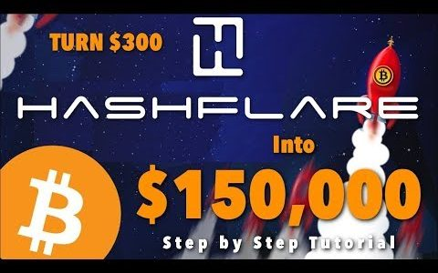 💎 Hashflare Bitcoin Mining 💎 How to Turn $300 into $150000