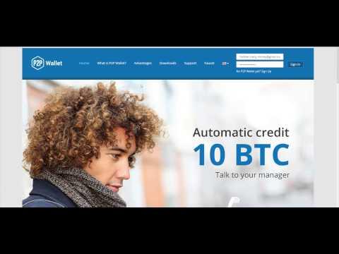 """""""P2P Wallet"""" Самый выгодный кошелек для Криптовалют"""