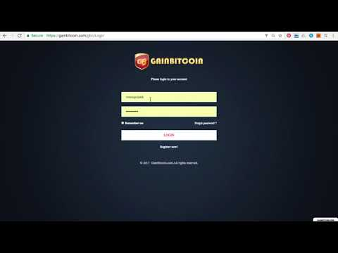Gainbitcoin Bitcoin Cloud Mining Daily Payout Increased 5Th July 2017
