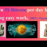 5$ Bitcoin earn per day by doing simple job, 100% payment