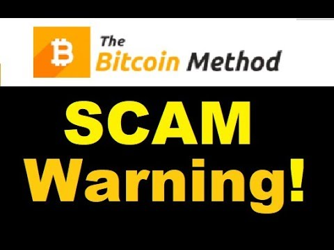The Bitcoin Method SCAM Exposed - REVIEW WARNING!