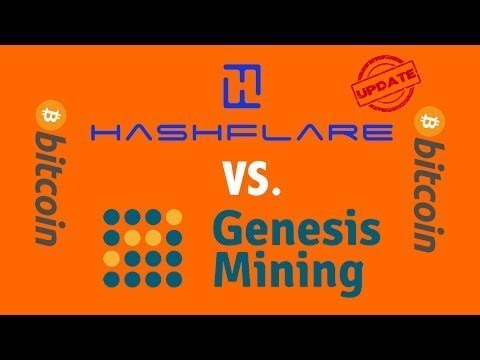 Hashflare vs. Genesis Bitcoin Cloud Mining Update
