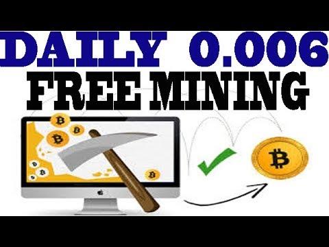 2018 Free Bitcoin Mining !! Daily Bitcoin Mining Earn 0.006 Bitcoin Easy Bitcoin Automatic [ Hindi ]