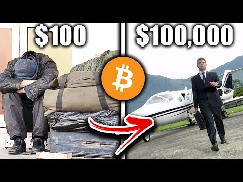 How To Turn a $100 Investment into $100,000 Hashflare Bitcoin Mining