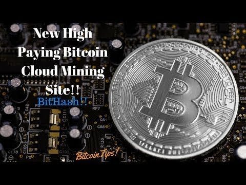 New High Paying Bitcoin Cloud Mining Site!! BitHash!!(November 2017)