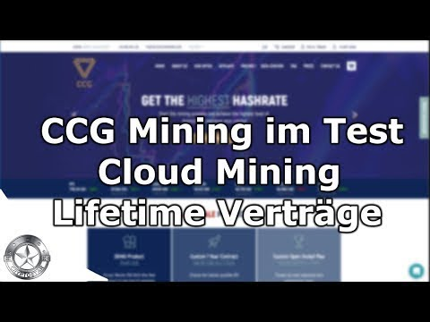 CCG Mining Bitcoin Cloud Mining November 2017