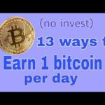 13 Ways to Earn Bitcoin Online – get 1 bitcoin per day