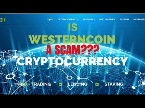 WesternCoin Scam!!?? I hope not!!