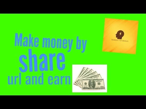 How to earn make money by sharing link/from home/Shorte.St/Bangla Tutorials