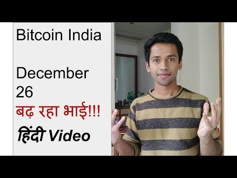 Bitcoin India News December 26 (Hindi)