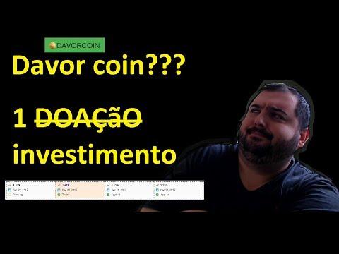 davorcoin scam? por que os gringos investem pesado? Bitcoin 53.000,00