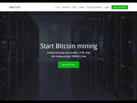 Flamehash First Withdraw 0.001 Btc II its Legit payout new bitcoin mining site launched