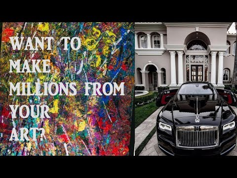 How to make money online- Selling Art!
