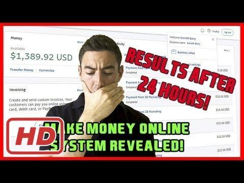 #Make Money Online - MIND-BLOWING!! Make Money From Home System 2017 - (Legitimate & Real PROOF!!)