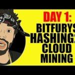 DAY 1: BITFURY'S HASHING24 CLOUD MINING…SCAM?