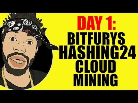 DAY 1: BITFURY'S HASHING24 CLOUD MINING...SCAM?