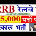 Railway jobs 2018 latest news today 65000 vacancies notification opening – apply online-piyush goyal