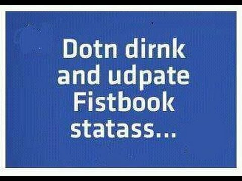 Do You Drink And Facebook ? Big Brother Will Help You !!