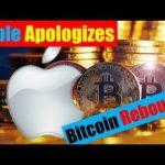 Bitcoin News: Apple Apologizes| Bitcoin Rebounds S&P 500 Futures