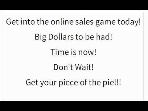 MAKE BIG MONEY SELLING RETURNS ONLINE!!
