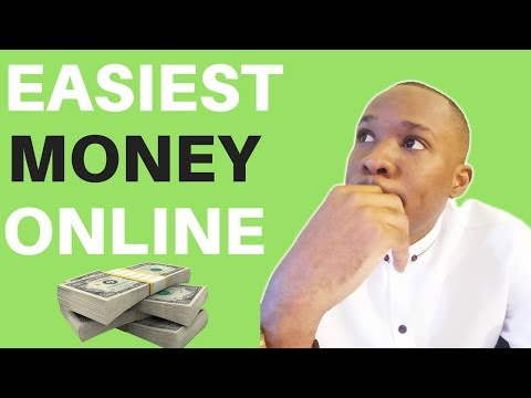 The EASIEST Way to Make Money Online in 2018 (Not Drop Shipping)