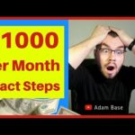 HOW TO MAKE MONEY ONLINE FAST IN 2018 EXACT STEP BY STEP TUTORIAL TO EARN $100 A DAY VIDEO