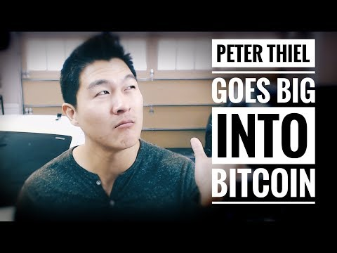 Peter Thiel and Founders Fund Invest in Bitcoin - Buy the News? TODAYS FOMO