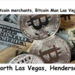 Bitcoin merchants, Bitcoin Man Las Vegas