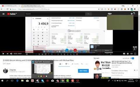 Review 2 –  $10000 Bitcoin Mining And $10000 GPU Multimining Results with Michael Rieu