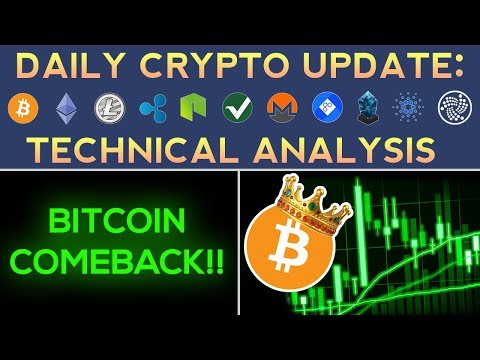 ALTCOINS FALL AS BITCOIN BOUNCES! WHAT'S NEXT? | Daily Update + Technical Analysis