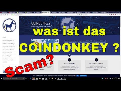 CoinDonkey was ist das ? | CoinDonkey Scam ? | Cloudmining ? | Deutsch / German
