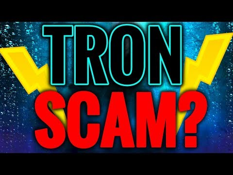 IS TRON (TRX) A SCAM? DID JUSTIN THE FOUNDER REALLY SELL 6 BILLION COINS TO EXIT?