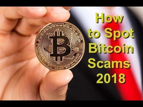 How to Spot Bitcoin Scams 2018