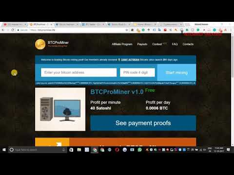 BTCProMiner Scam Review Free Bitcoin Mining Scam Fraud Bitcoin Cryptocurrency Mining Scam Hindi/Urdu