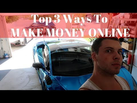 Top 3 Fastest Ways To Make Money Online In **LATE 2017**