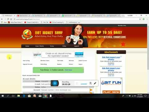 How to make money online 5$ dollars per day by smart technologies
