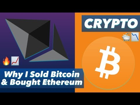 I Sold (Almost) All My Bitcoin & Bought Ether