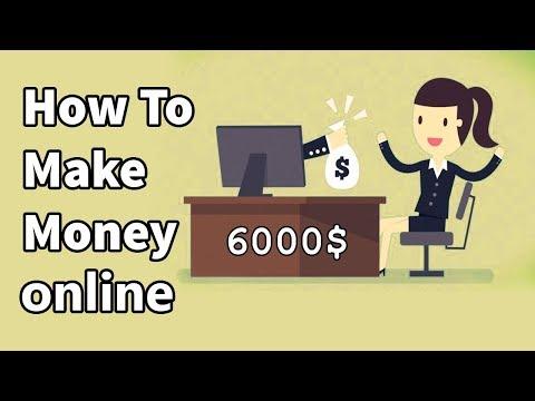 Make money online  6000 $ per month in 2018 - Beginning to reskin
