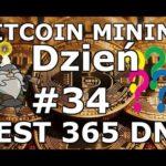 BITCOIN MINING Eksperyment Dzień #34 Opłacalność Kopania Bitcoina i Kryptowalut w Chmurze