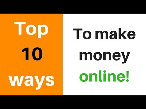 Top 10 Ways to Make Money Online | Hindi