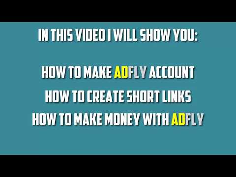 How To Make Money Online With ADFLY (Step By Step) 15-50$ Per Month