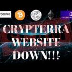 Crypterra Website Down: OMG DID THEY EXIT SCAM!?!?!?