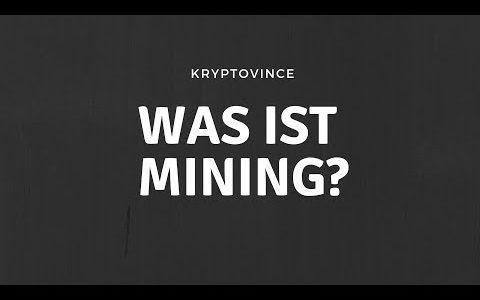 WAS IST BITCOIN MINING? | Für Anfänger erklärt!