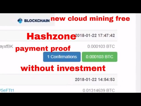 Bitcoin Cloud Mining free | Payment |  HashZone | Payment | Review