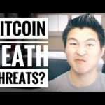 Bitcoin Scam Death Threat – Standard Fair for the Internet – #SECURITY