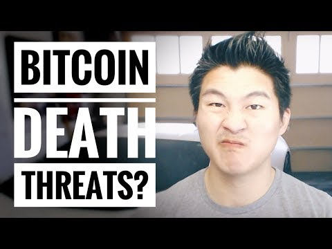Bitcoin Scam Death Threat - Standard Fair for the Internet - #SECURITY