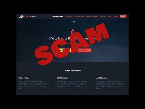 Spacemining Scammed!! DO NOT INVEST!!!